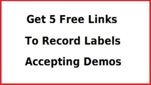 5 links to Record Labels